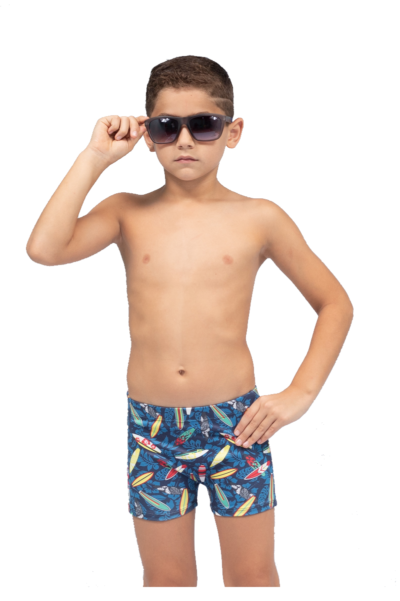 Sunga infantil boxer shortinho