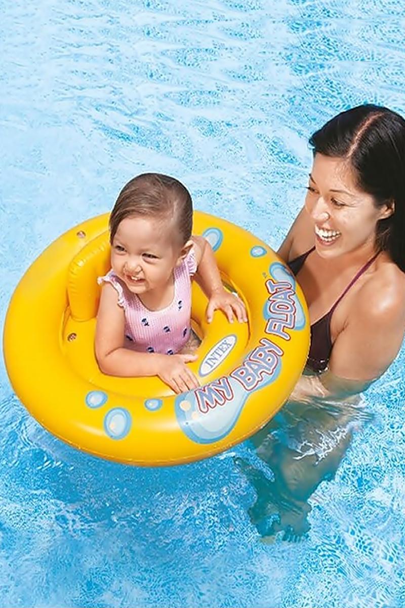 Boia inflável baby com assento
