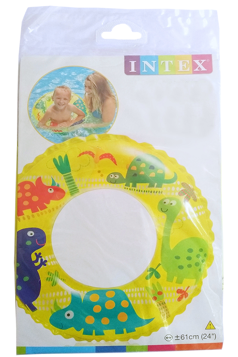 Boia infantil redonda Intex Dino