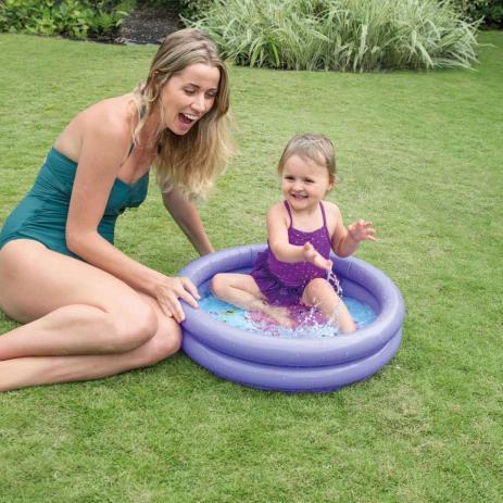 Piscina infantil inflável Intex 15L Lula baby